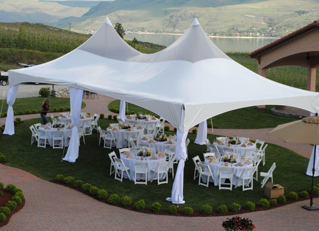 High Peak Tent 20×40 & High Peak Tent 20x40 - Superior Party Rentals